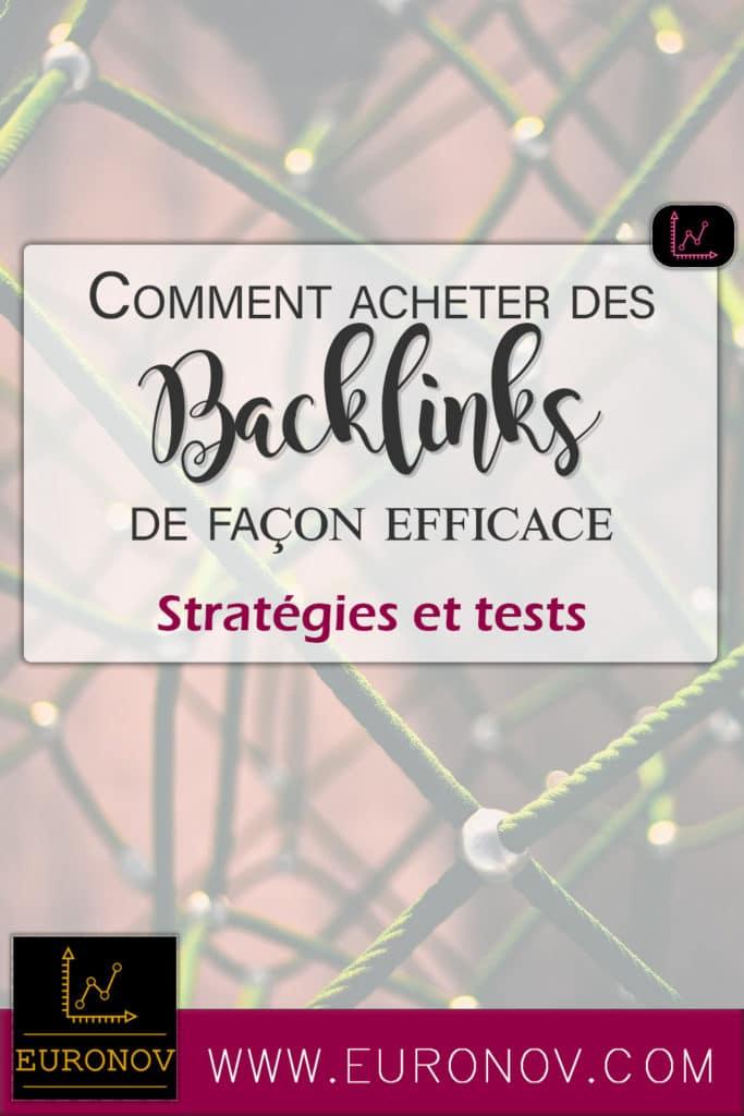 Voici nos solutions pour l'achat de vos backlink